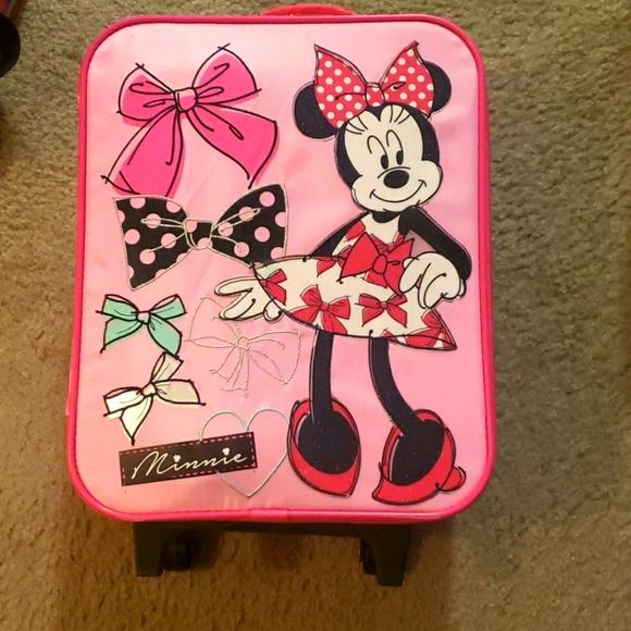 Disney Minnie Mouse carryon bag.
